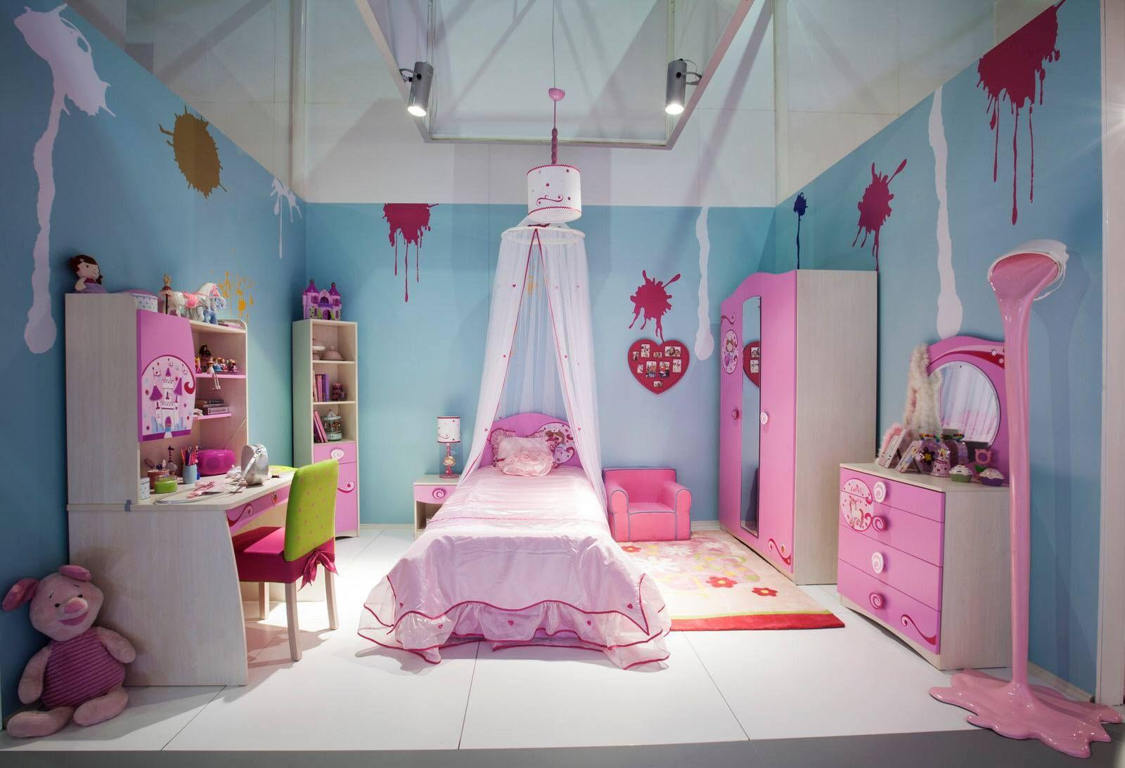 Dětský pokoj pro holčičku