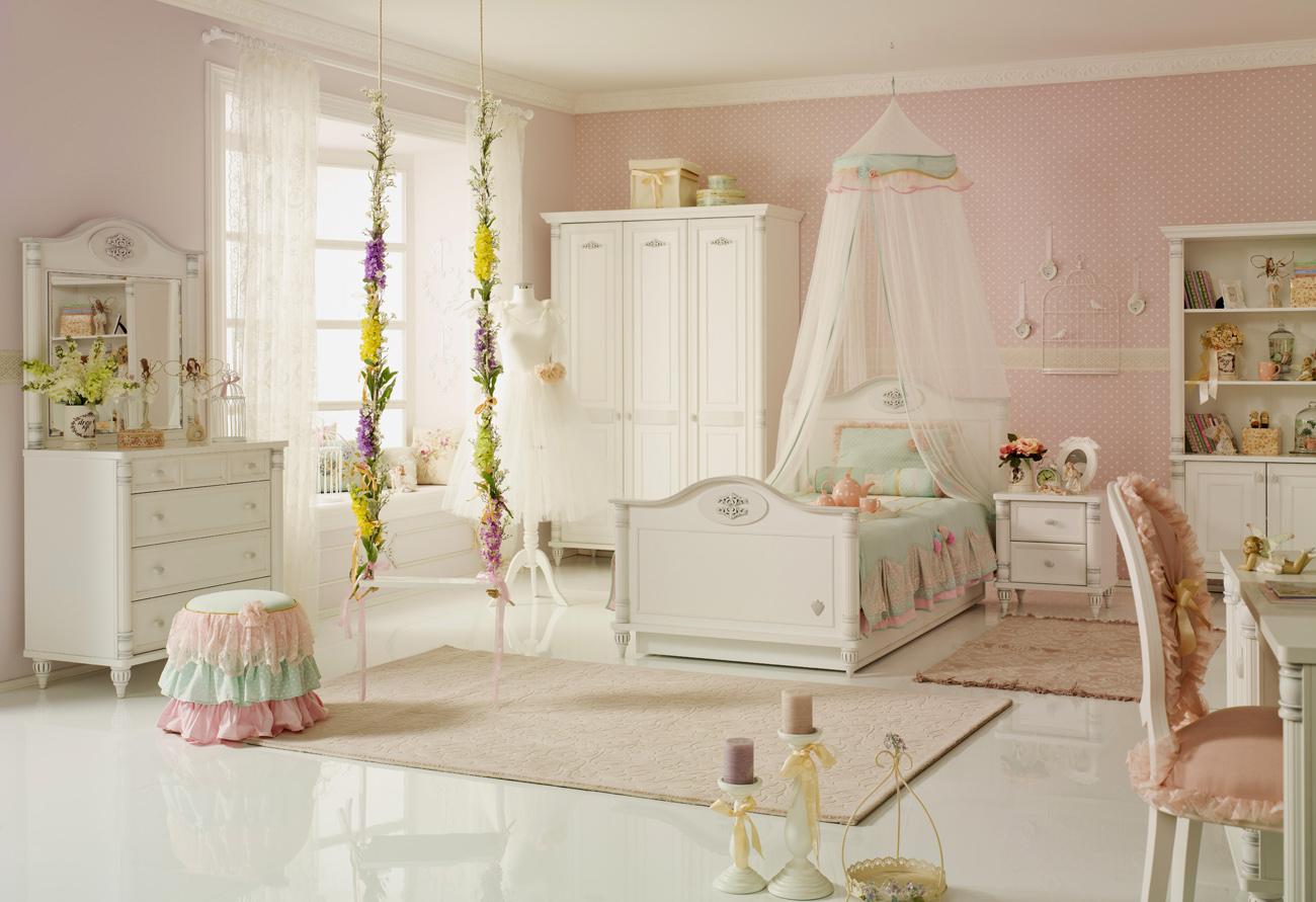 a752530e2c697 Dívčí kolekce nábytku Romantic se stala hitem - Hezký dětský nábytek