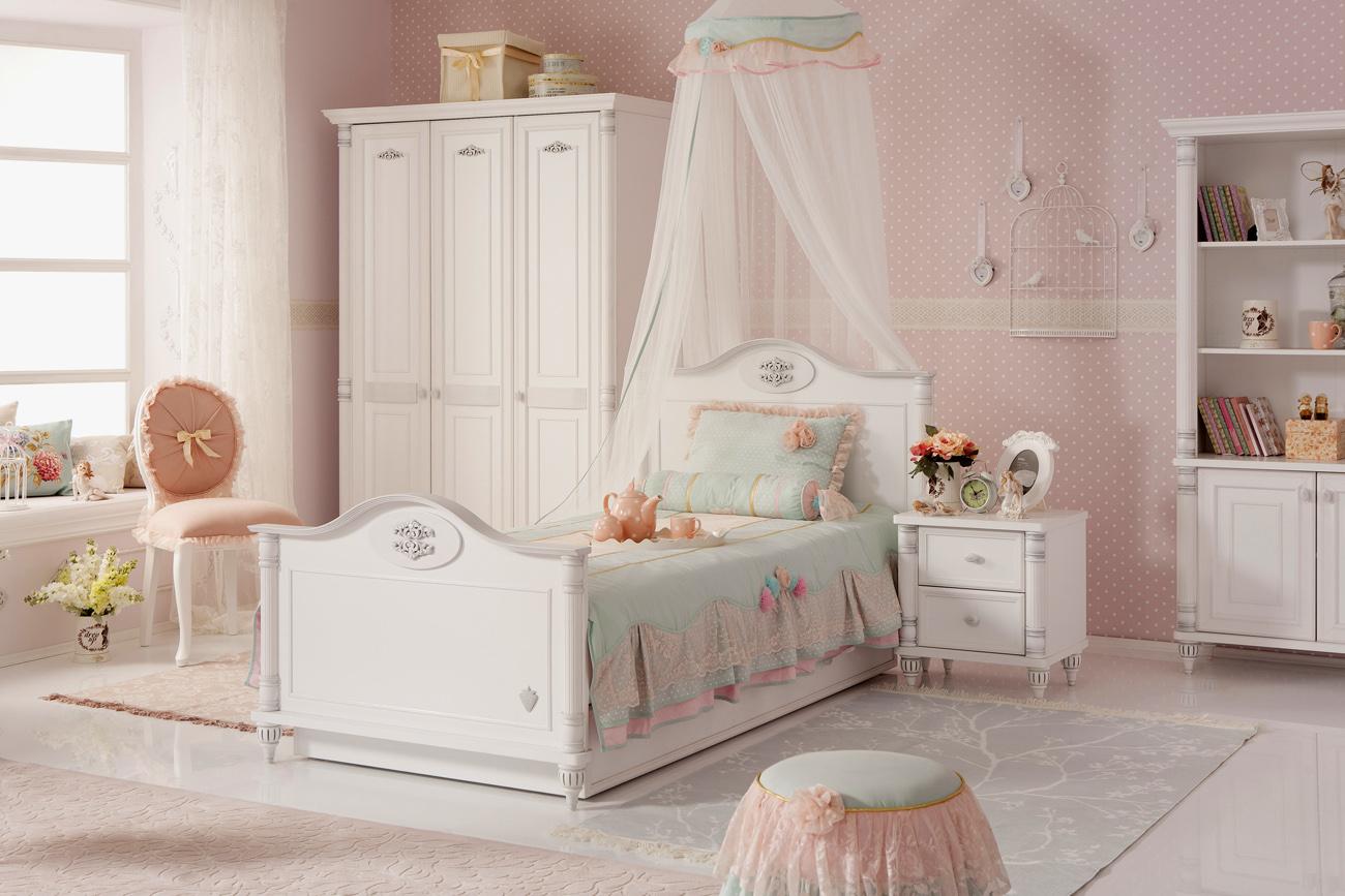 1460ff4cdce99 Exkluzivní pokoj pro slečnu - Romantic - Hezký dětský nábytek