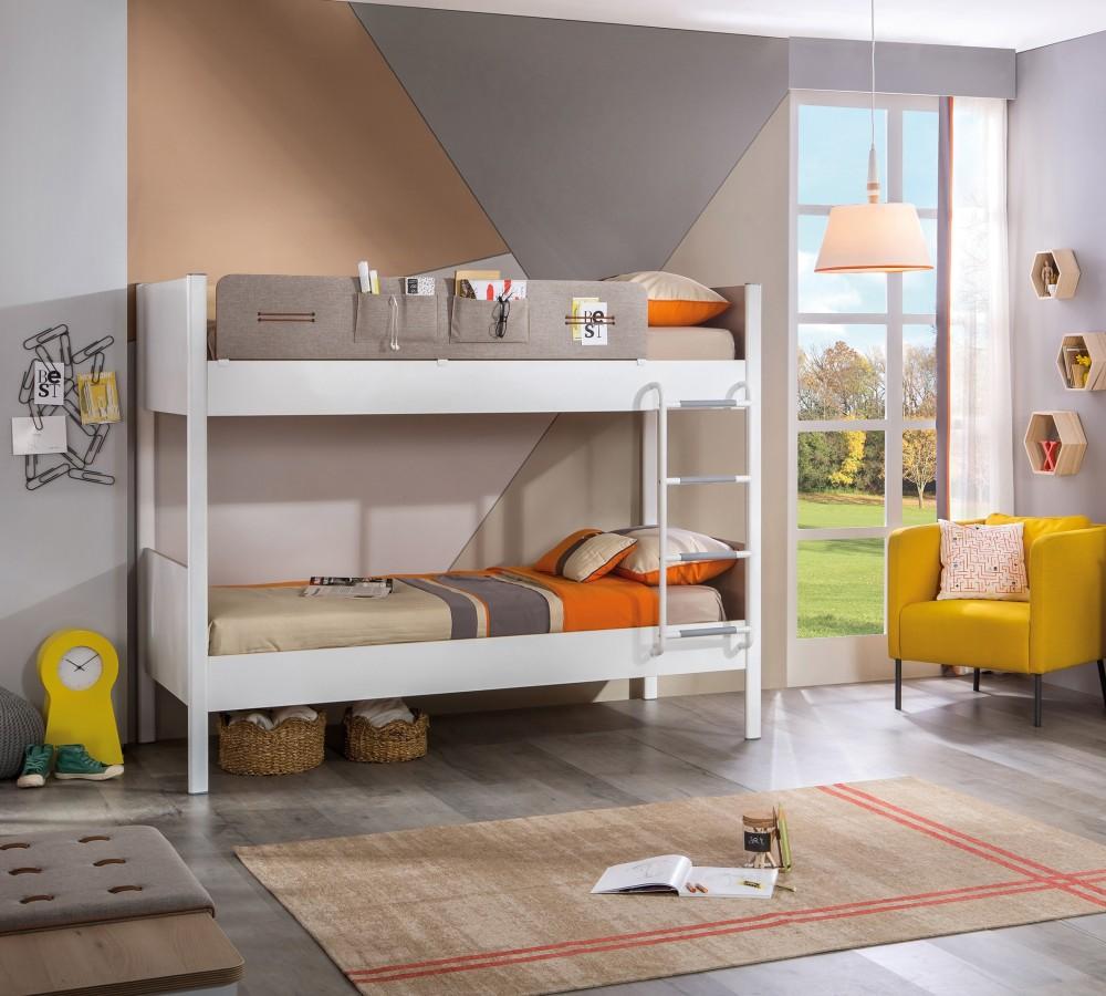 4ff2e1b833c62 Studentský pokoj pro dva sourozence Dynamic - Hezký dětský nábytek